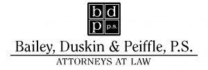 Bailey, Duskin & Peiffle, P.S. logo Black #1